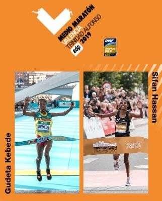 élite femenina en el Medio maratón de Valencia